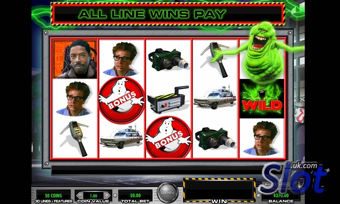 Ghostbusters Casino Game