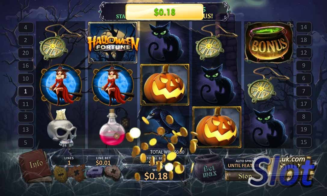 Halloween Fortune Slot Bonus