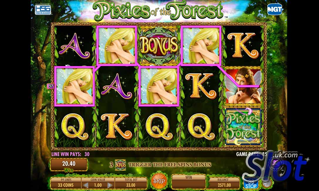 Pixies of the Forest Slot Game - Free Play Now