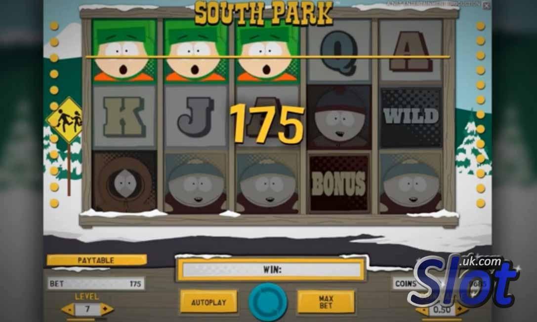 South park slot reels