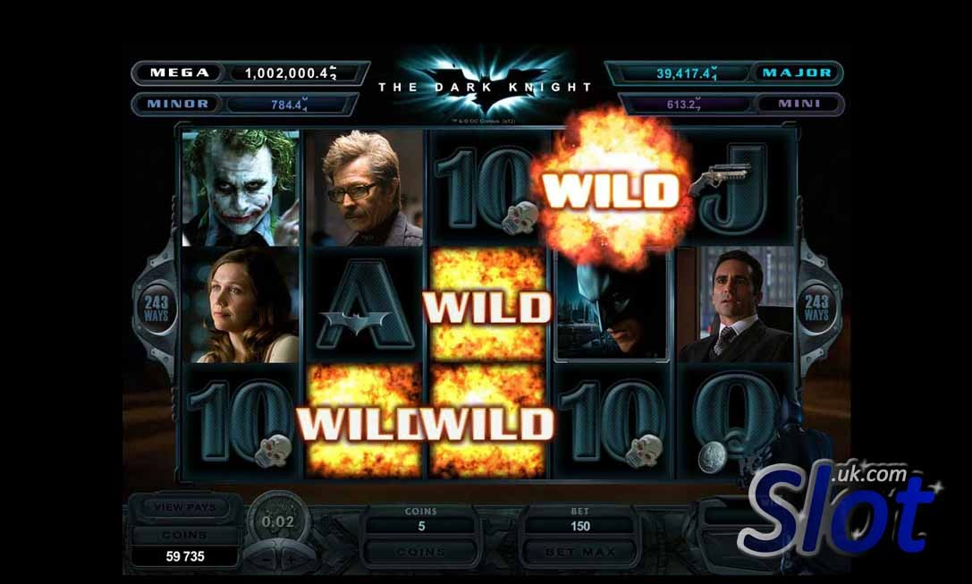 The Dark Knight slot game