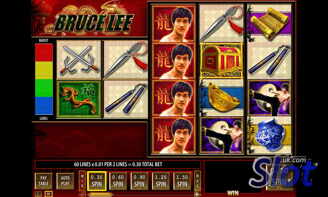 Bruce Lee slot game