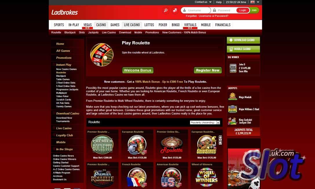 Ladbrokes Casino Com