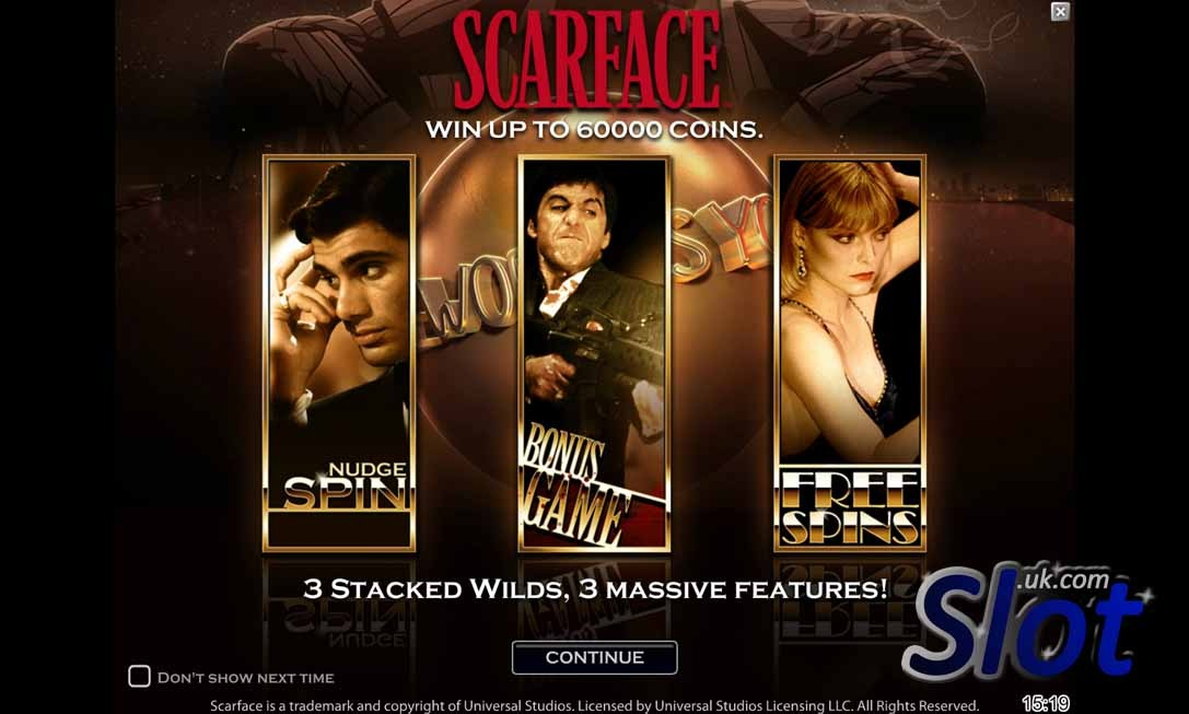 Scarface Slot Reels