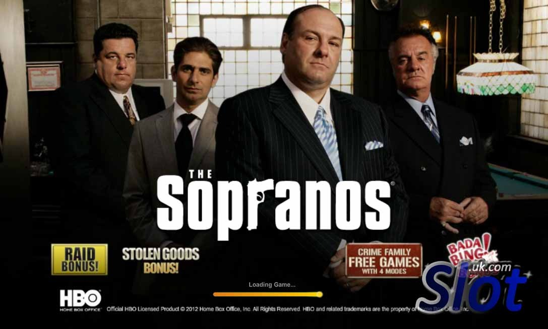 The Sopranos Slot Game Reels