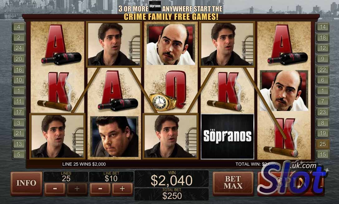 Play The Sopranos Online Slot at Casino.com UK