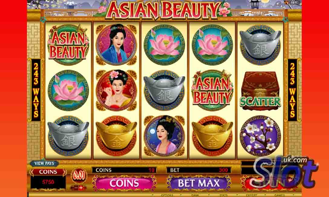 asian beauty slot game