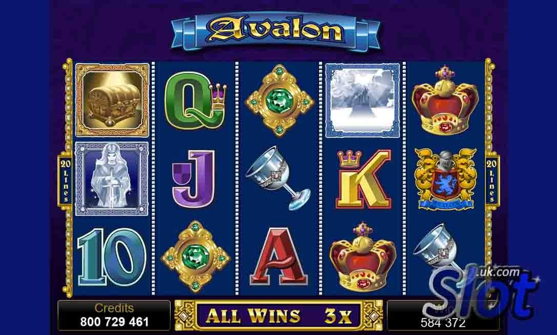 Avalon Slot Reels