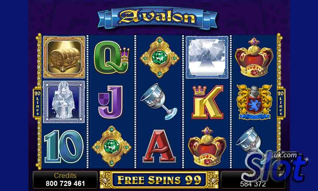 Avalon casino free spins