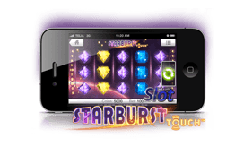 starburst slot game on mobile
