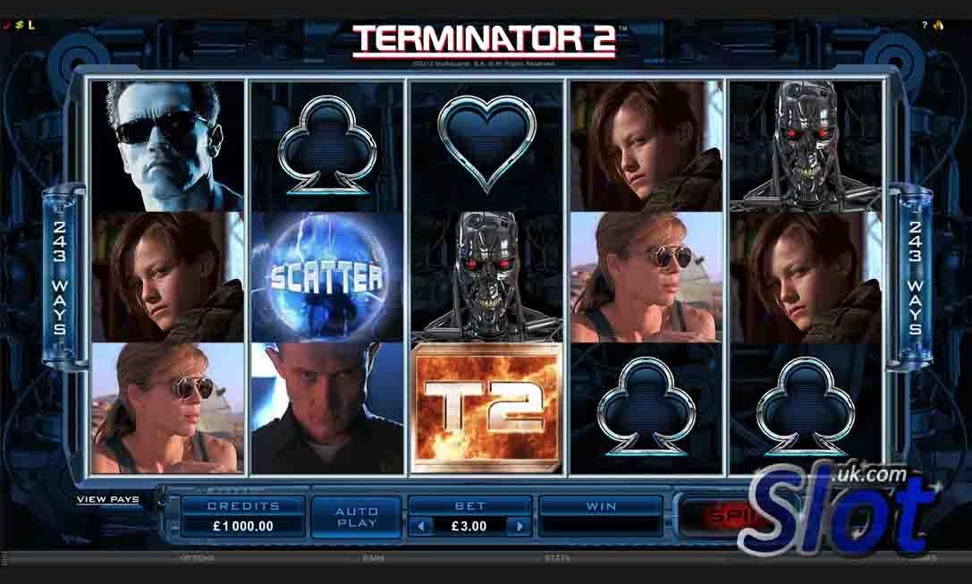 Terminator 2 Scatter
