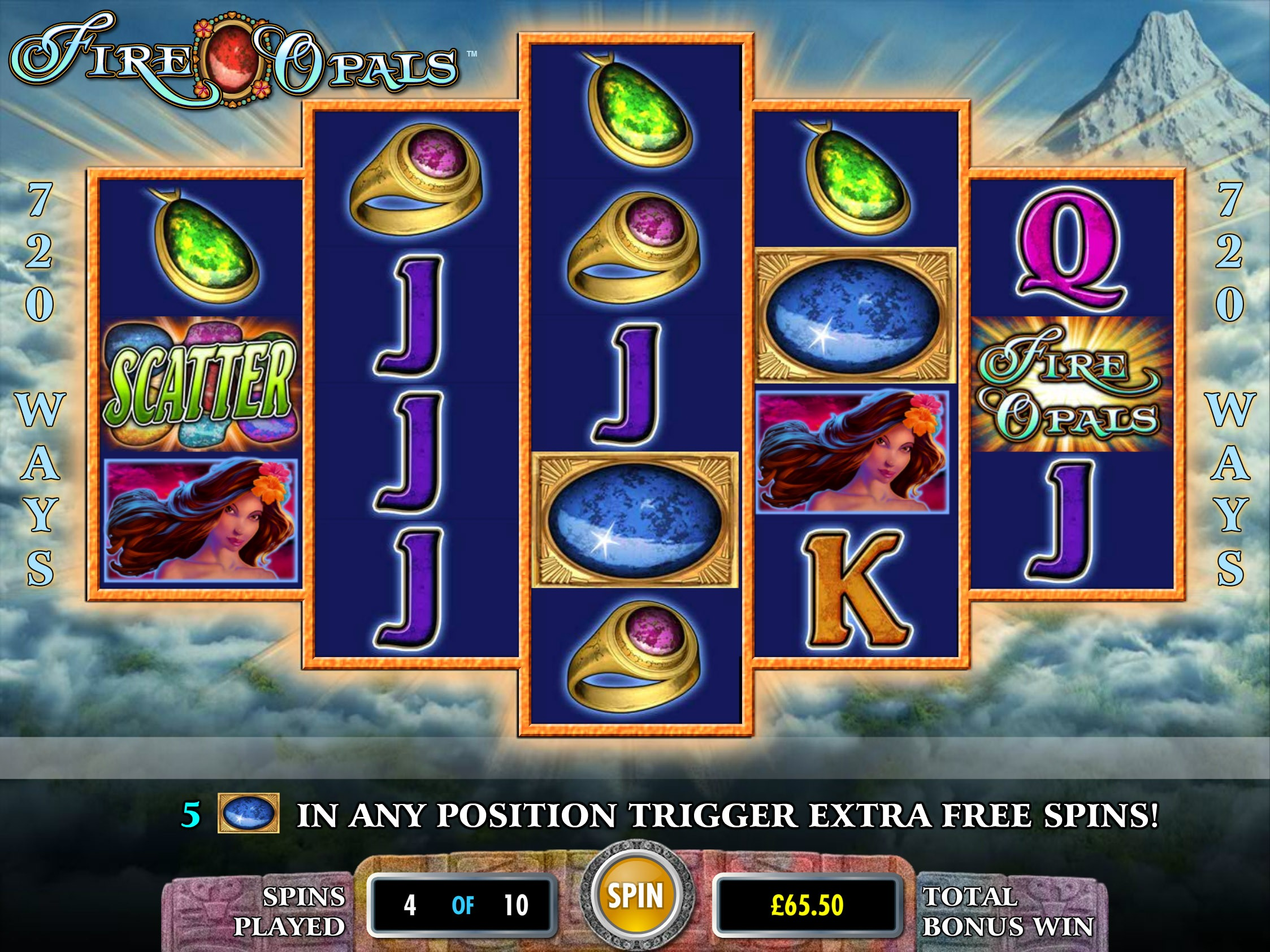 fire opals slot game preview