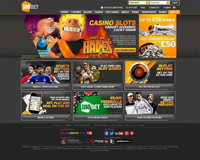 188BET Homepage