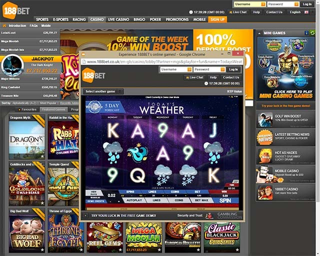 188BET Slot Game