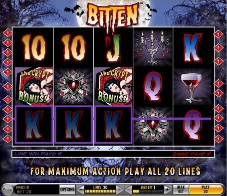 Bitten Slot Bonus