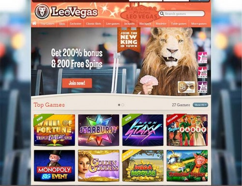 Blueprint slots arrive at Leo Vegas