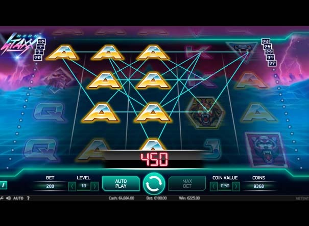 Neon Staxx Slot Bonus