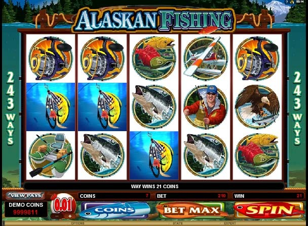 Alaskan Fishing Slot Bonus