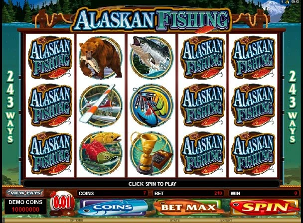 Alaskan Fishing Slot Reels
