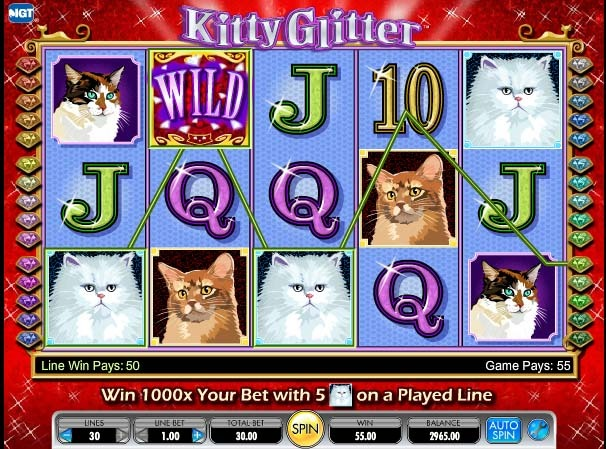 Kitty Glitter Bonus