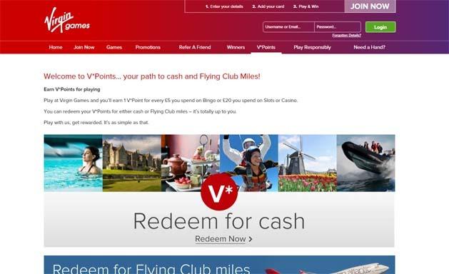 Virgin Games Loyalty
