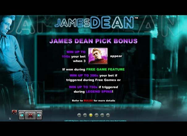 James Dean Bonus