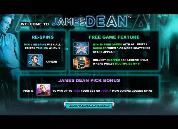 James Dean Intro