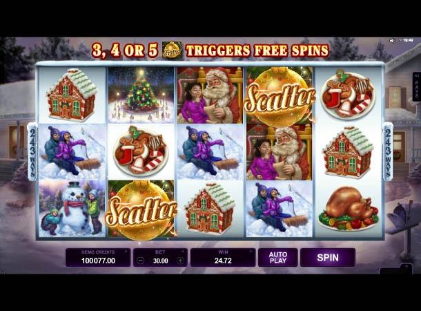Happy Holidays Slot Reels