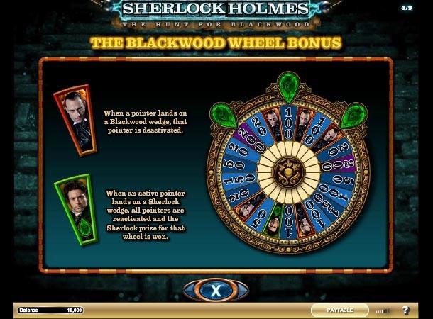 Sherlock Holmes THFB Bonus Slot