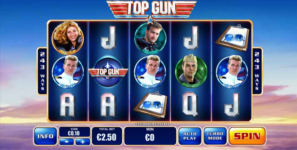 Play Top Gun Online Slot at Casino.com UK