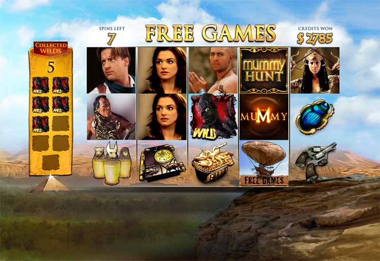 The Mummy Slot Game Free Games