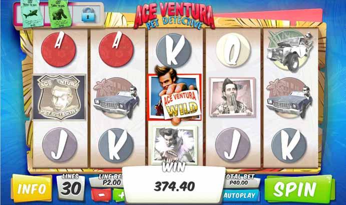 Ace Ventura Slot Bonus Round