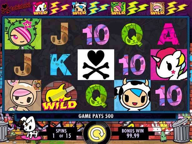 Tokidoki Lucky Town Bonus Round