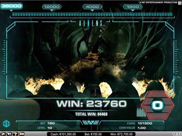 Aliens Slot Bonus Round