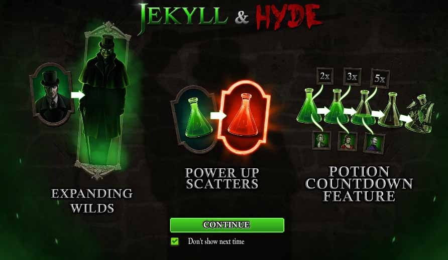Jekyll and Hyde Bonus Round