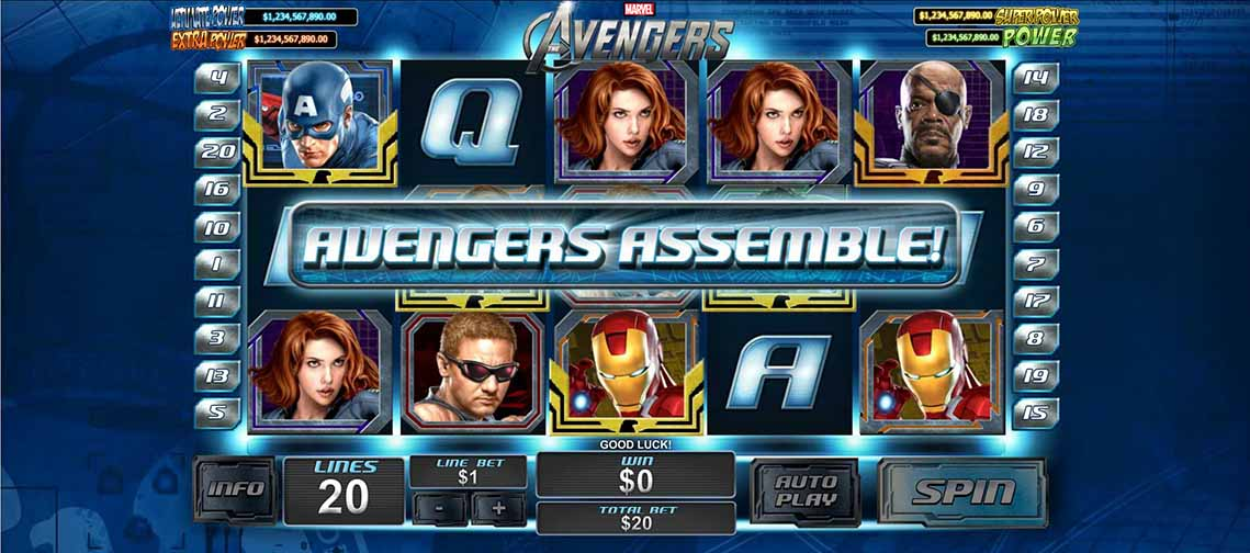 The Avengers Slot Bonus