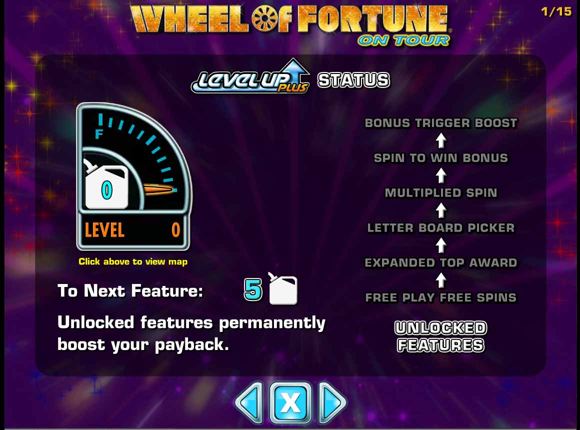 Wheel of Fortune on Tour Slot Machine - Play Online for Free