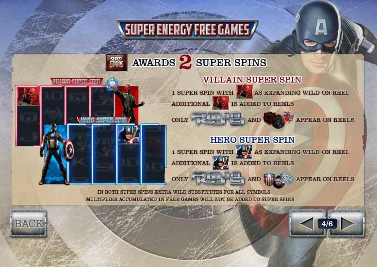 Captain America Slot Bonus Round