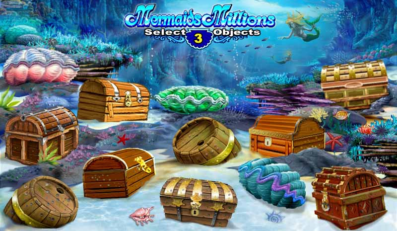 Mermaids Millions Bonus Round