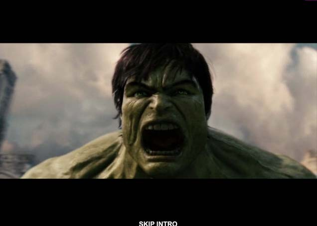 The Incredible Hulk Intro