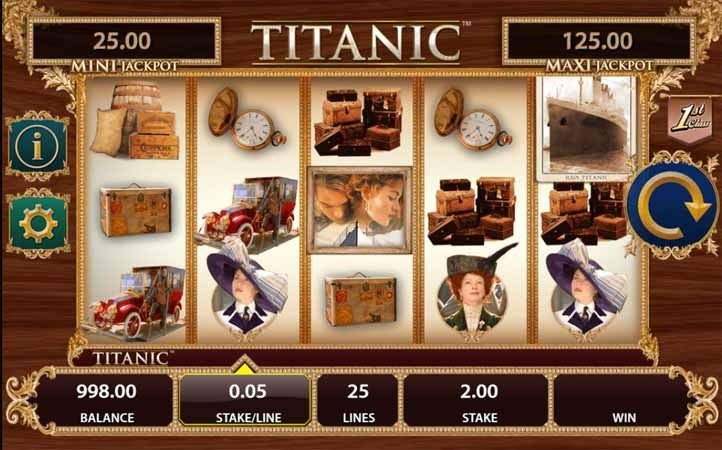 Titanic Slot Game Reels