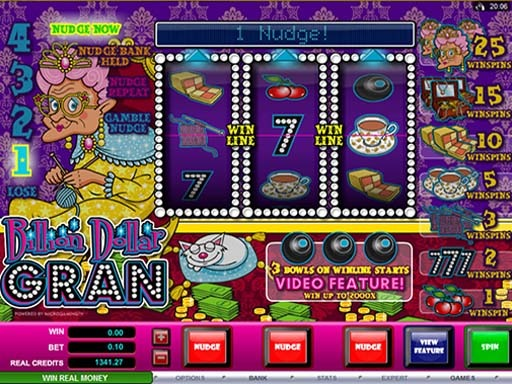 Billion Dollar Slot Game Reels
