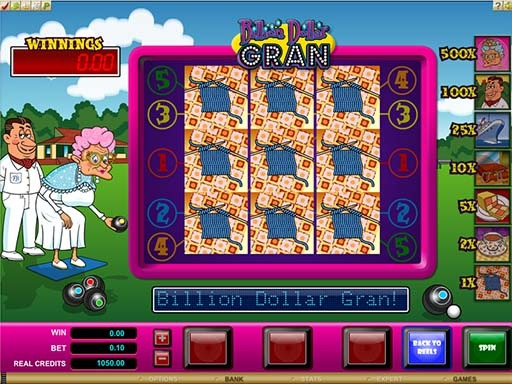Billion Dollar Slot Game