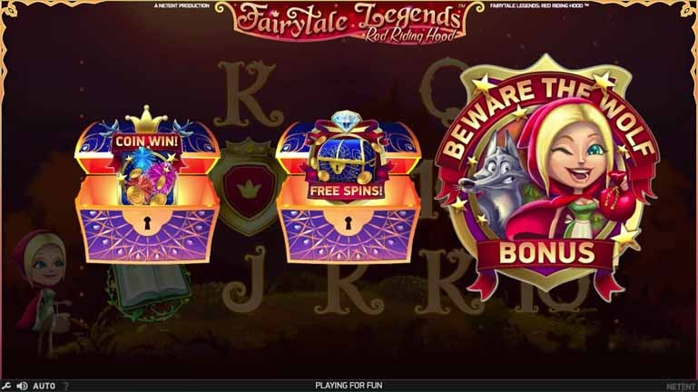 Fairy Tale Legends: Red Riding Hood Slot Bonus