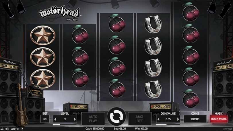Motorhead Slot Game Reels