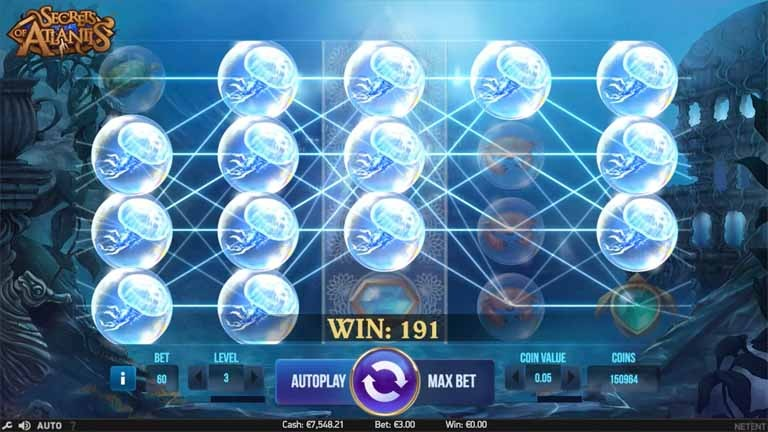 Secrets of Atlantis Slot Big Win