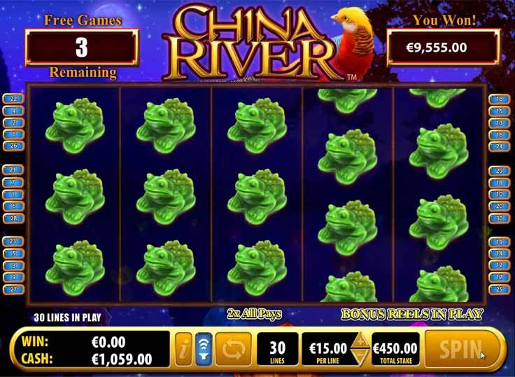 China River Slot Bonus