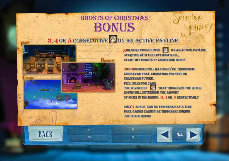 Ghosts of Christmas Slot Bonus