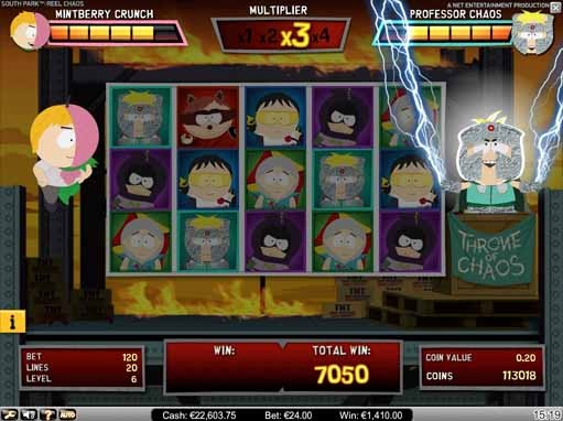 South Park: Reel Chaos Slot Bonus
