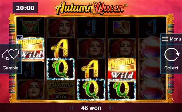 Autumn Queen Slot Bonus